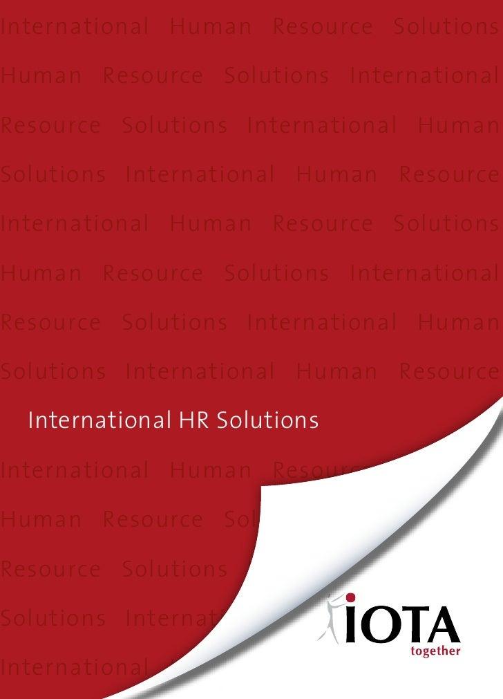 International Human Resource SolutionsHuman Resource Solutions InternationalResource Solutions International HumanSolution...