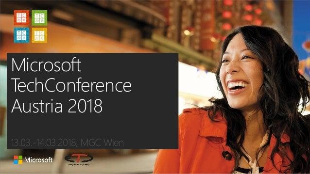 Microsoft TechConference Austria 2018