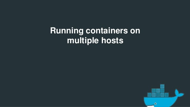 Docker new york meetup may 2015 the docker orchestration for Docker hub consul