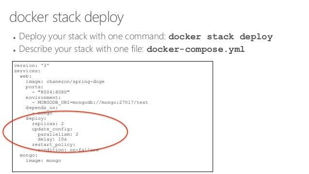 docker stack deploy