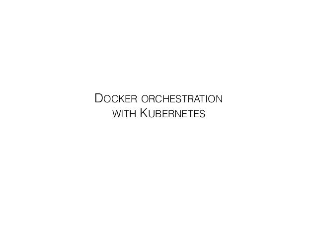 Samuel ROZE DOCKER ORCHESTRATION 