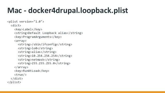 Docker4Drupal 2 1 for Development