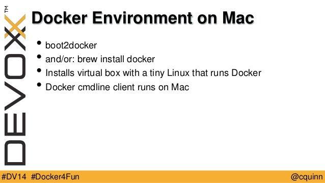 brew install docker linux
