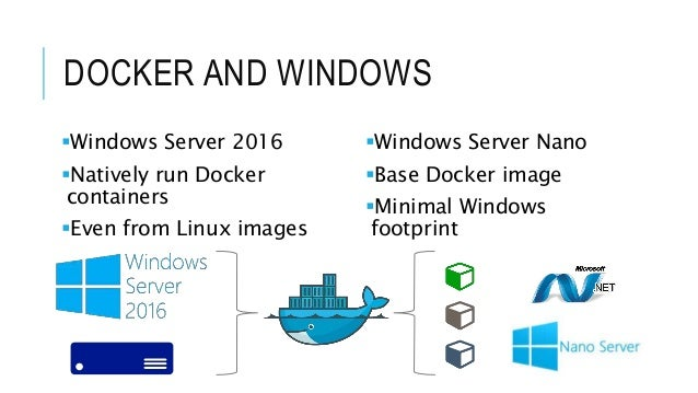 Integration with Docker and  NET Core
