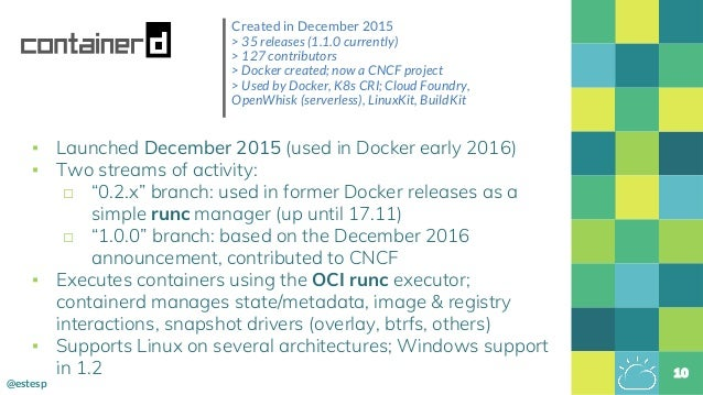 Docker Athens: Docker Engine Evolution & Containerd Use Cases