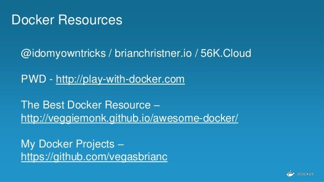 Cloud Native & Docker
