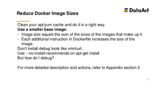 Docker best practice