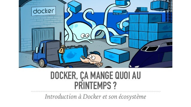 DOCKER, ÇA MANGE QUOI AU PRINTEMPS ? Introduction à Docker et son écosystème