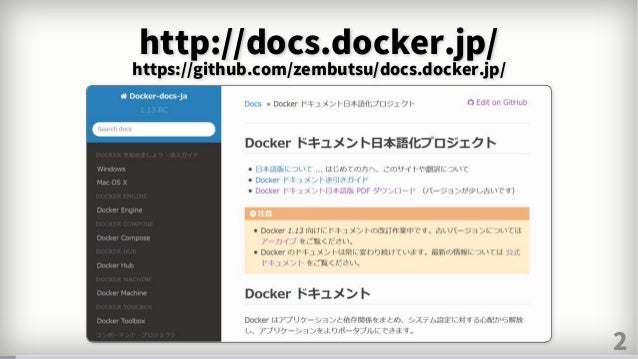 Docker ComposeでMastodonが必要なものを梱包する話 Slide 2