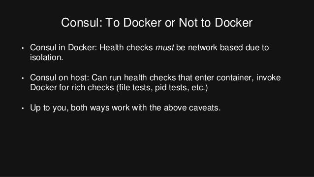 Orchestrating docker with terraform and consul by mitchell for Consul in docker