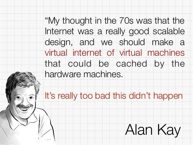 It's getting people to agree on something The real value of Docker is not technology