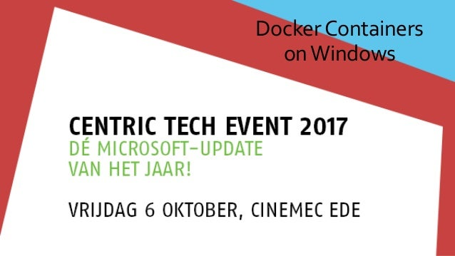 DockerContainers onWindows