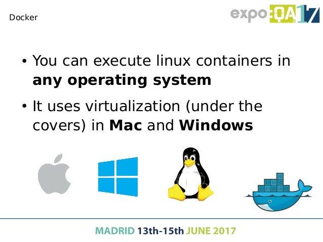 Docker Docker concepts