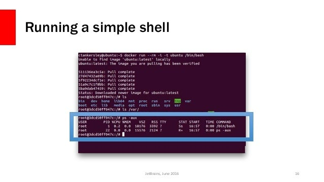 how to keep docker container running when closing shell