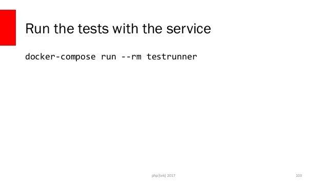 php[tek] 2017 Running the tests