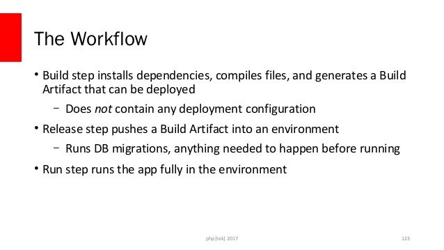 Tips • Build Artifact can be an image • Builds should be completely reproducible • Release always take a build artifact, n...