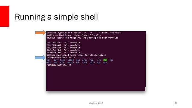 php[tek] 2017 Running a simple shell 22