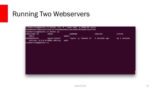 php[tek] 2017 Running Two Webservers 25