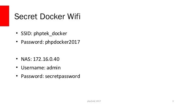 Docker for Developers - php[tek] 2017