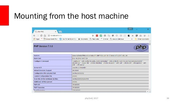 php[tek] 2017 Mounting from the host machine 39