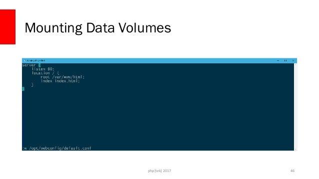 php[tek] 2017 Mounting Data Volumes 47