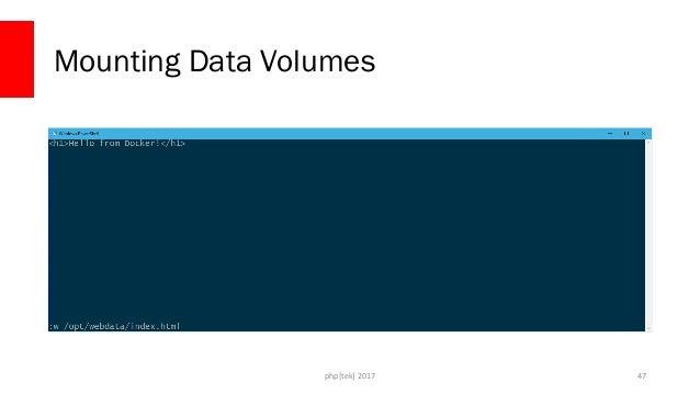 php[tek] 2017 Mounting Data Volumes 48