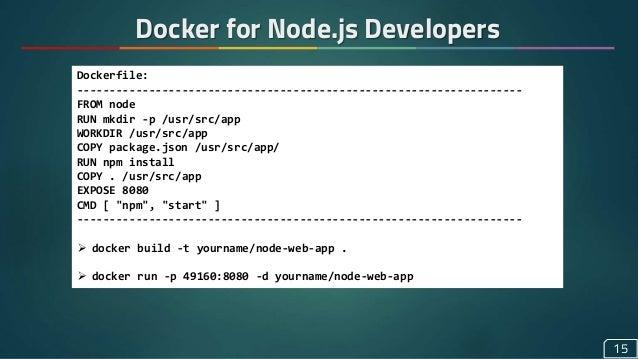 Docker for Web Developers: A Sneak Peek