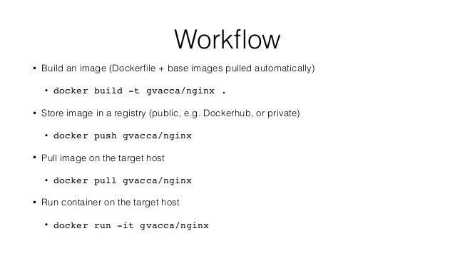 how to build a docker image from scratch