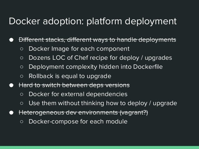 Docker in production service discovery with consul - road to opscon …