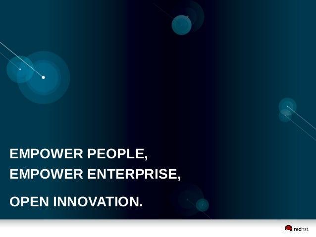 EMPOWER PEOPLE, EMPOWER ENTERPRISE, OPEN INNOVATION.