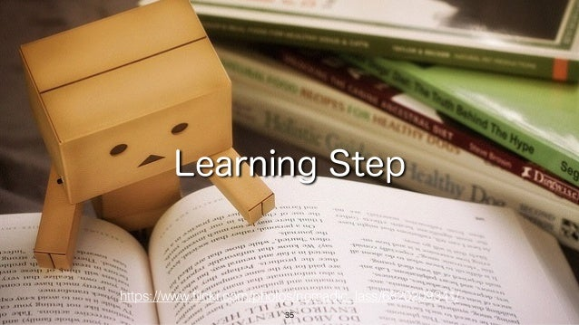 35 Learning Step https://www.flickr.com/photos/nomadic_lass/6820209341/