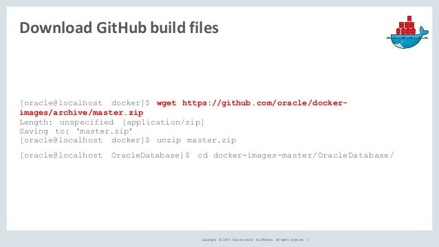 Dockerizing Oracle Database