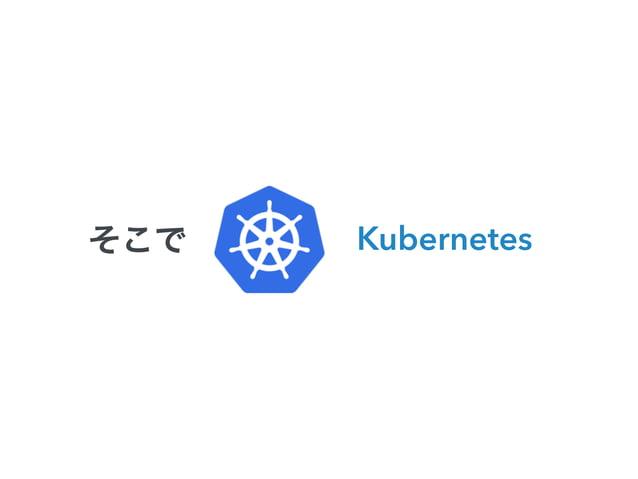 これから話す、3つのポイント  • Kubernetesとは何か  • 実際どんな感じに使えるのか  • Kubernetesと、どう関わっていくか