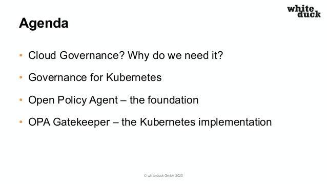 Docker Rosenheim Meetup: Policy & Governance for Kubernetes Slide 3