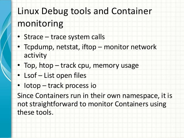 Container Monitoring with Sysdig