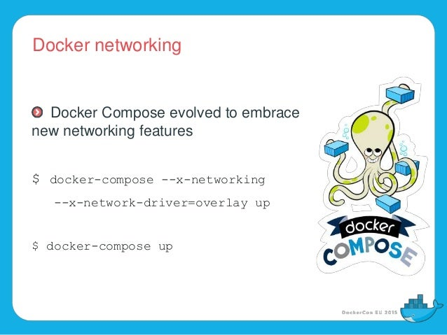 docker-compose host network