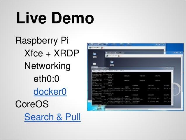 Docker on Raspberry Pi and CoreOS