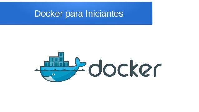 Docker para Iniciantes
