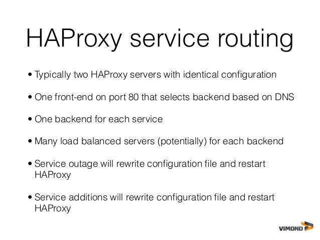 Docker presentasjon java bin for Haproxy consul template