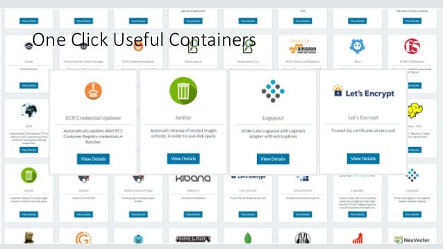 One Click Useful Containers