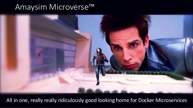 Amaysim Microverse™ All in one, really really ridiculously good looking home for Docker Microservices