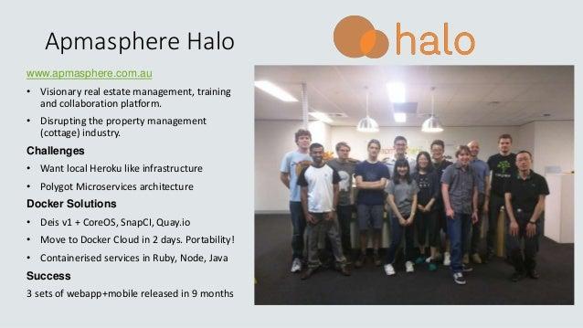 Apmasphere Halo www.apmasphere.com.au • Visionary real estate management, training and collaboration platform. • Disruptin...