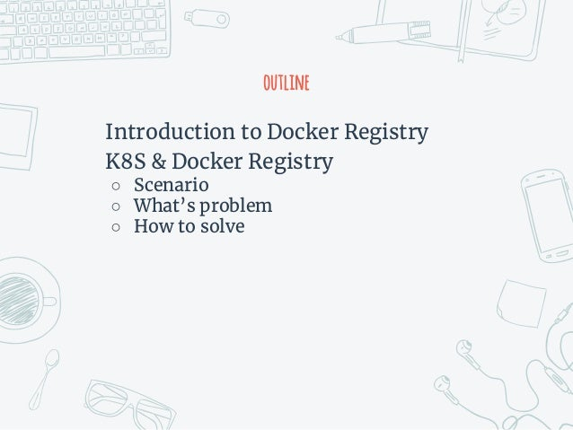 Integration kubernetes with docker private registry