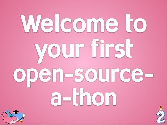 Docker Open-Source-A-Thon 2015 Slide 2