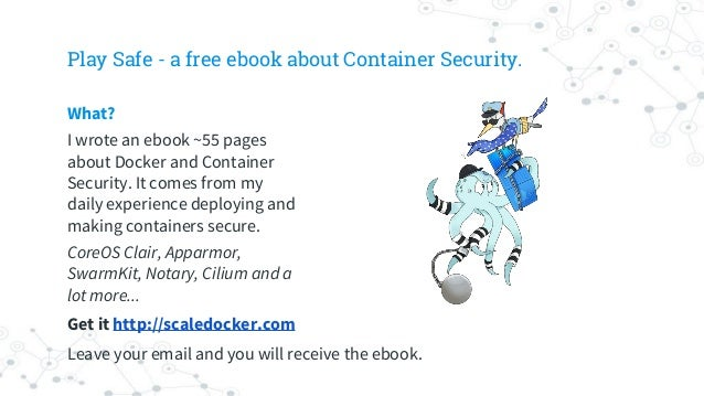 Security Tips to run Docker in Production Slide 3