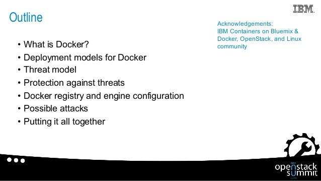 Unraveling Docker Security: Lessons From a Production Cloud Slide 2