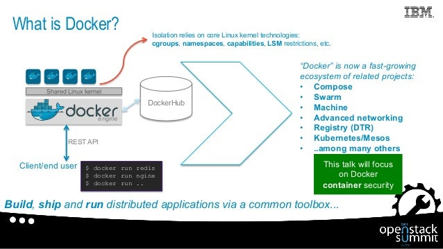 Unraveling Docker Security: Lessons From a Production Cloud Slide 3
