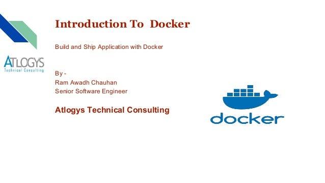 Docker @ Atlogys