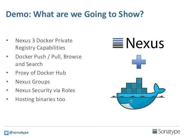Docker private proxy