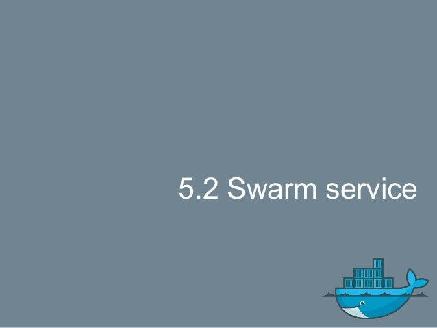 Docker service commands Commands: create Create a new service inspect Display detailed information on one or more services...